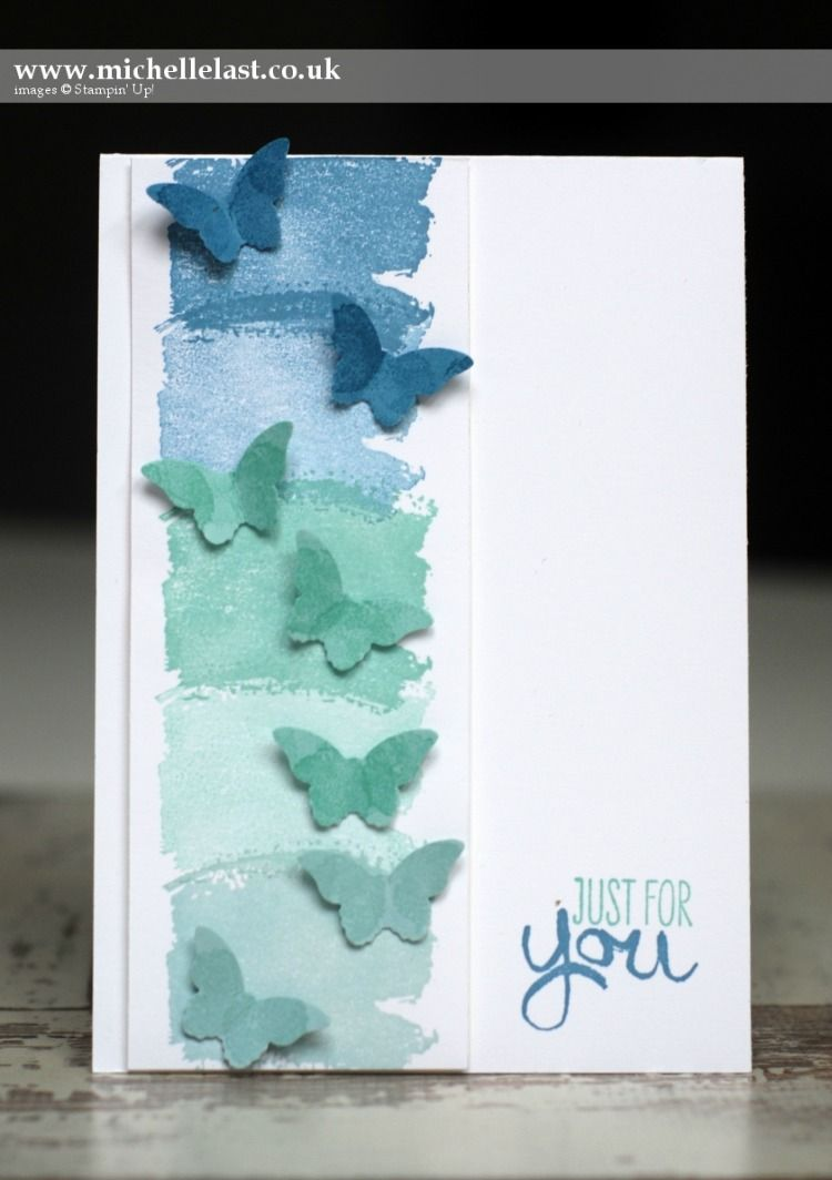 Card Making Ideas Using Punches Part - 27: Every Month We Will Share A Simply Idea Or Technique For The Beginner Craft  Using Stampin