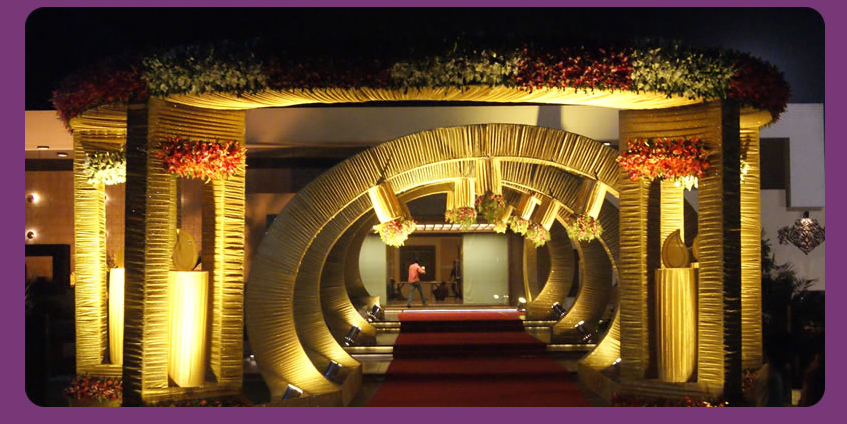 indian wedding hall decoration indian wedding entrance decoration 3 png 847 215 424 5103