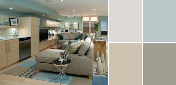 a palette guide to basement paint colors basement paint on basement color palette ideas id=96726