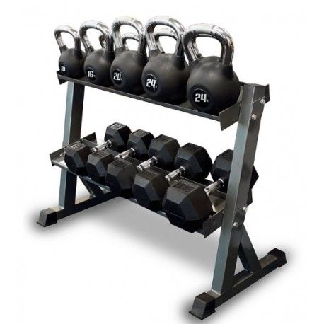 Dual Kettlebell Dumbbell Rack Dumbbell Rack Kettlebell Dumbbell