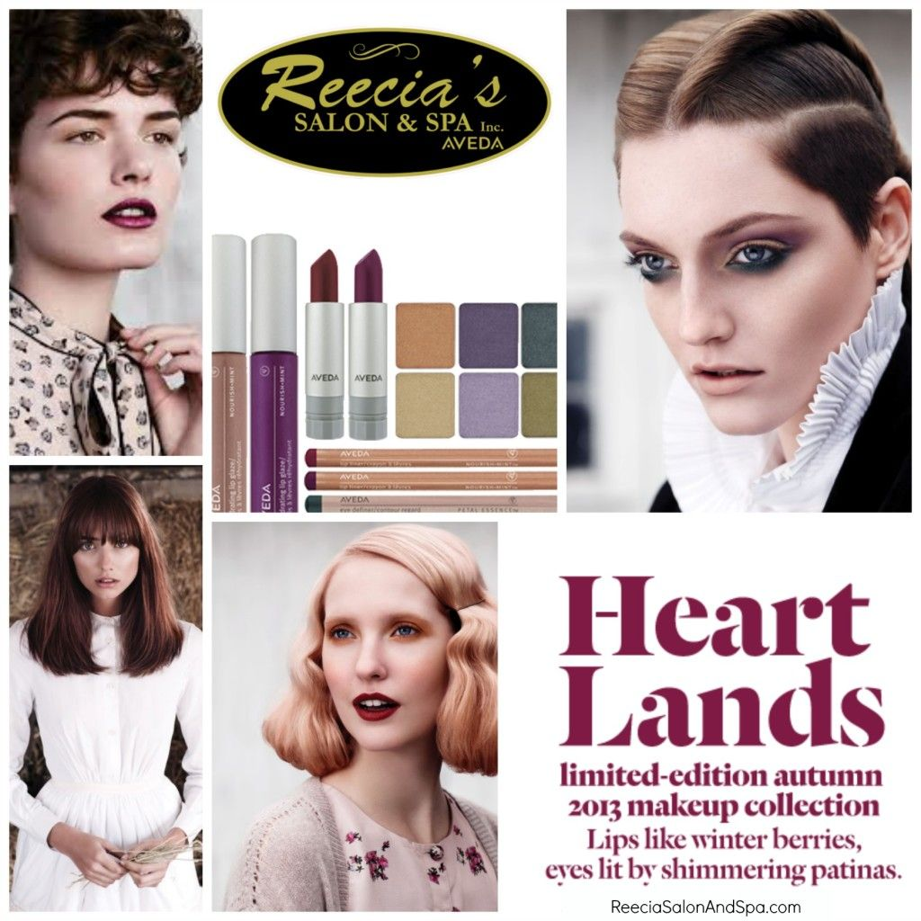 Change Of Season, Change Your Look. Fall is here, a change of season is a great time to change your look! It can be simple. Add some warm, darker tones to your color, update your makeup, try a new haircut- all customized to you, to fit your personal style. Check out our new fall makeup collection from Aveda. We will have our makeup night again soon, watch for sign up dates-its free!