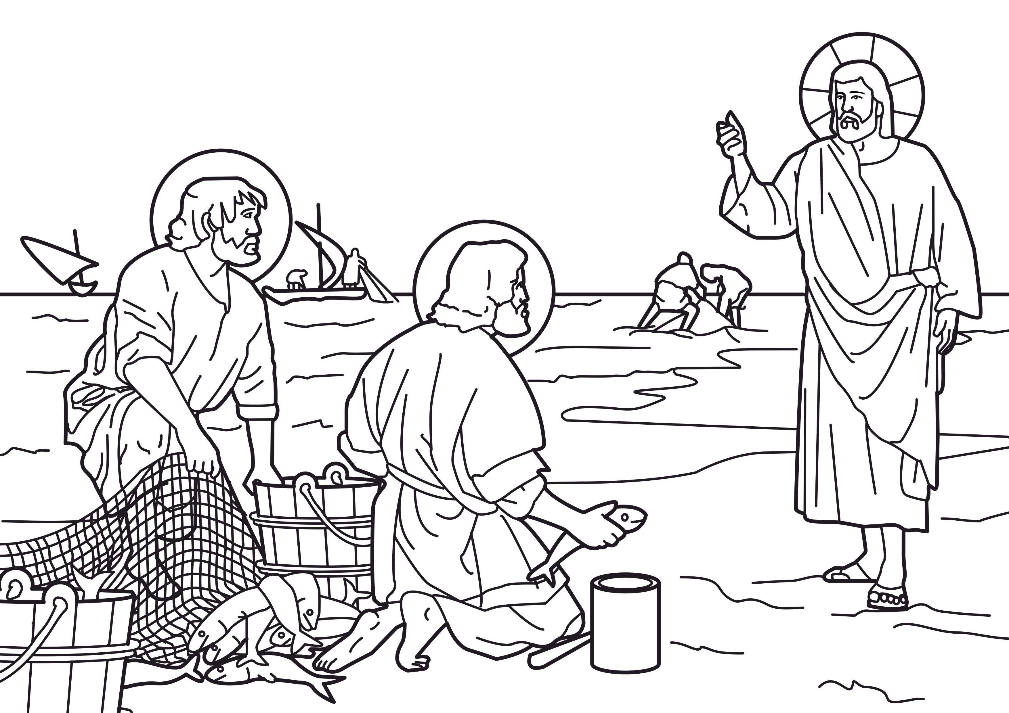 Jesus chooses disciples Disciples chosen Bible