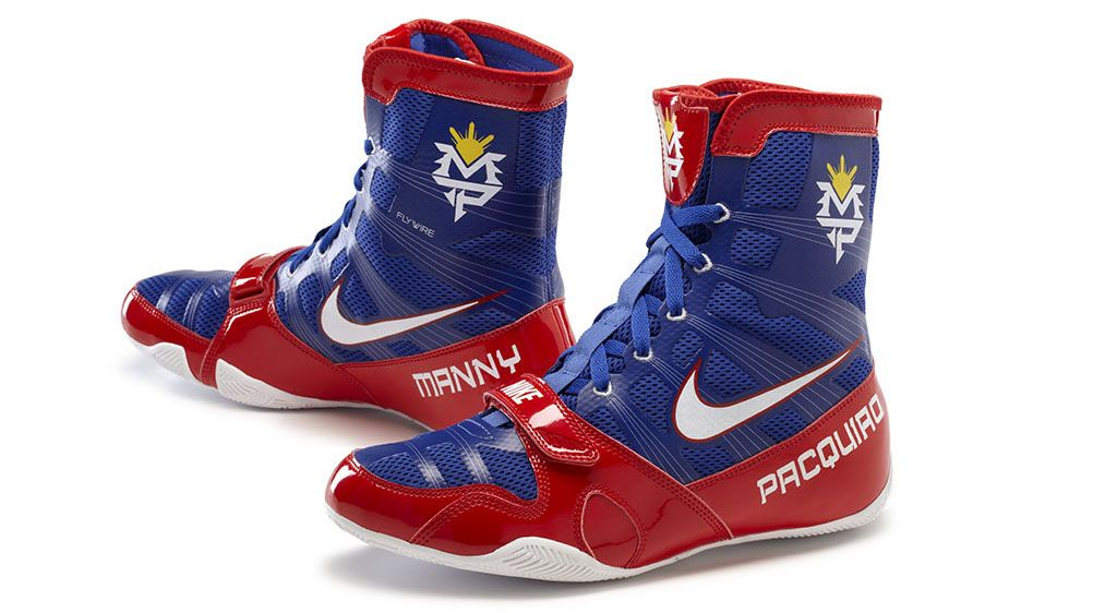 Nike Manny Pacquiao Hyperko Boot Blue June 9 For The