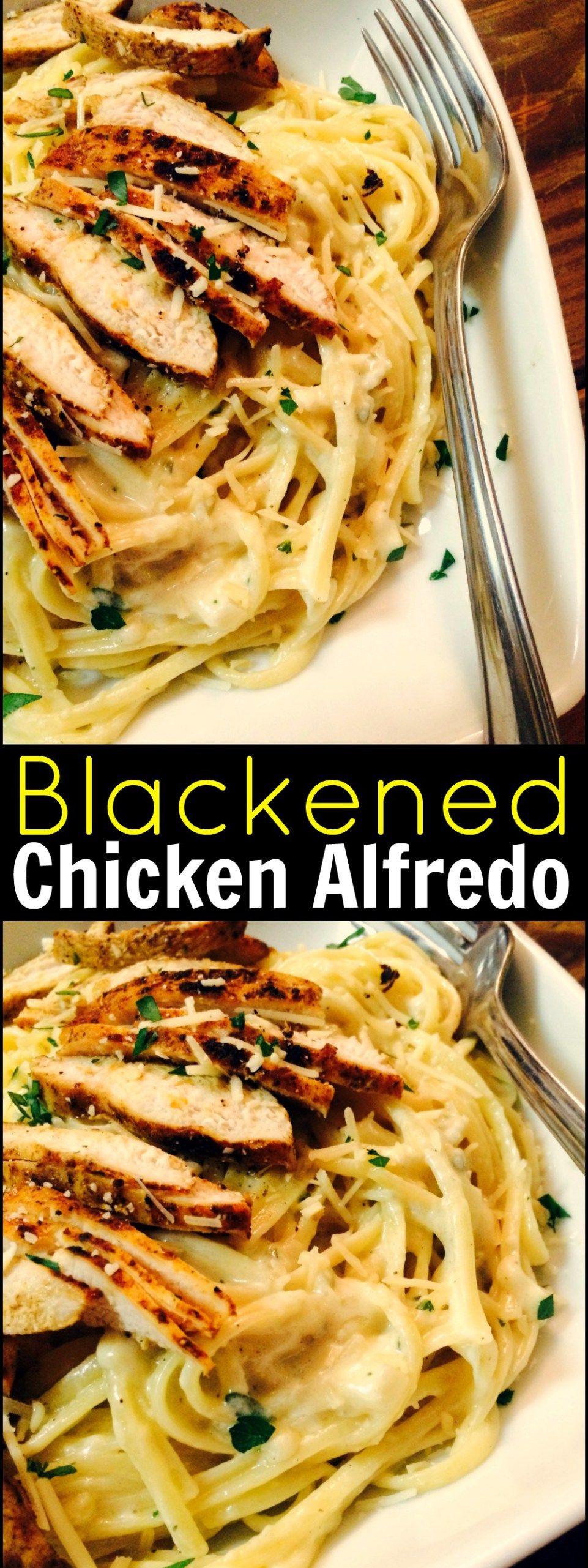 Blackened chicken alfredo aunt bees recipes recipes