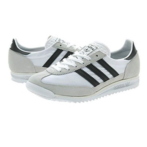 new style 267a9 f06f2 Adidas-S81305-Femmes-SL-72-running-chaussures-blanc-noir
