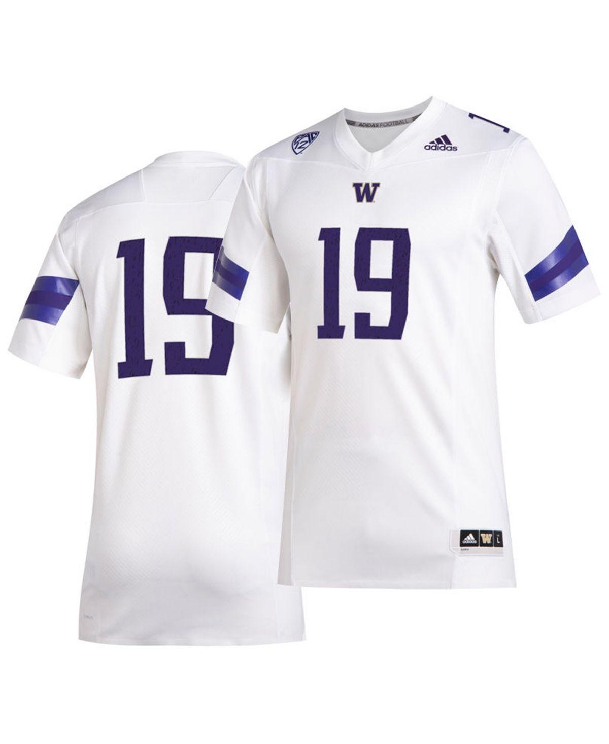 adidas Men's Washington Huskies Football Premier Jersey - White in ...