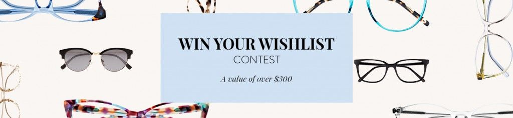 Bonlook win your wishlist contest win 3 free