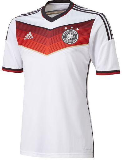 Alemania y Adidas innovan en las camisetas de la selección germana para el  Mundial 2f90f2e0aefdf