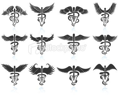 1000 ideas about caduceus tattoo on pinterest nurse tattoos - Vet Tech Symbol Galleryhip Com The Hippest Galleries