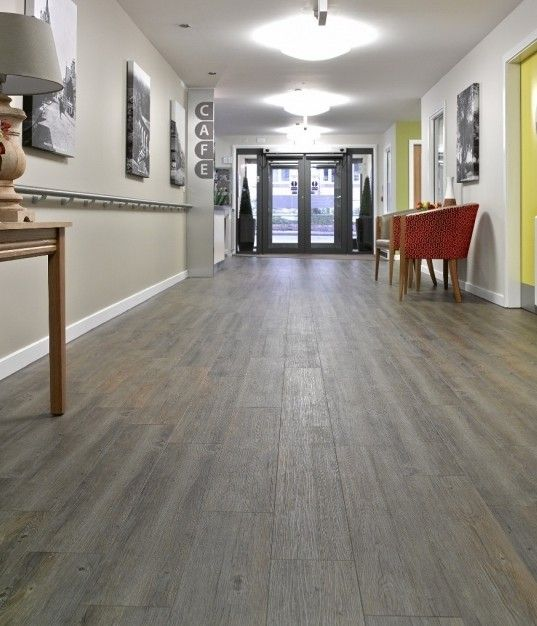 For A Floor That S Hard Wearing: Hard-wearing, Waterproof Creation Clic System Was