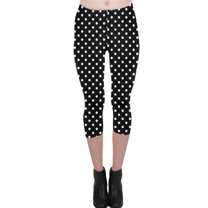 Polka dots Capri Leggings
