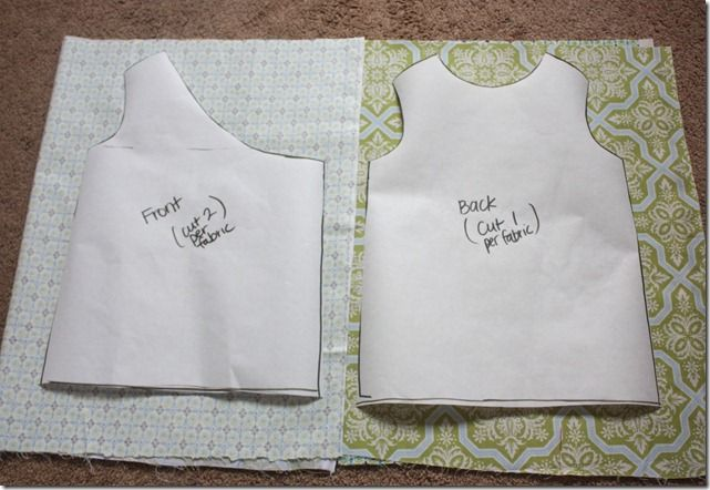 Reversible Dress Pattern Placement Preemie Diapers Free
