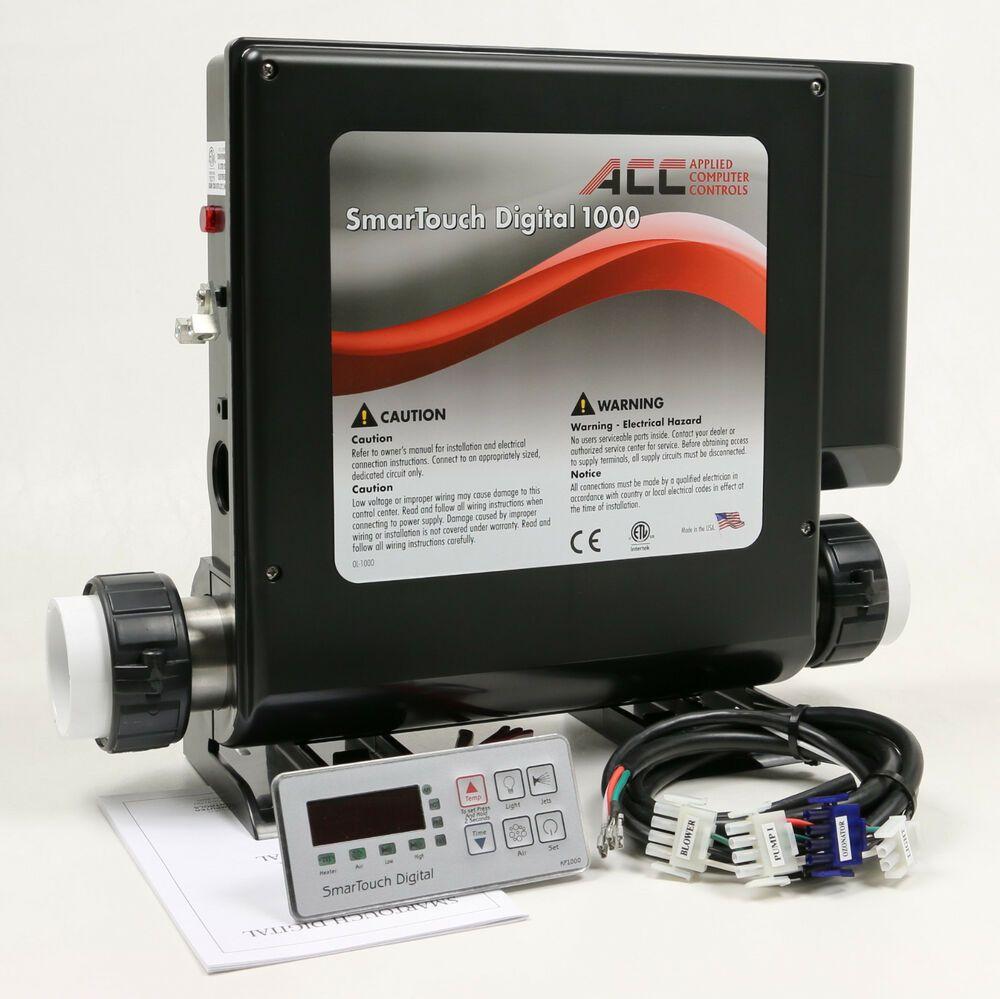 Spa Control Hot Tub Heater Controller Smtd1000 2 5x5 5 Topside
