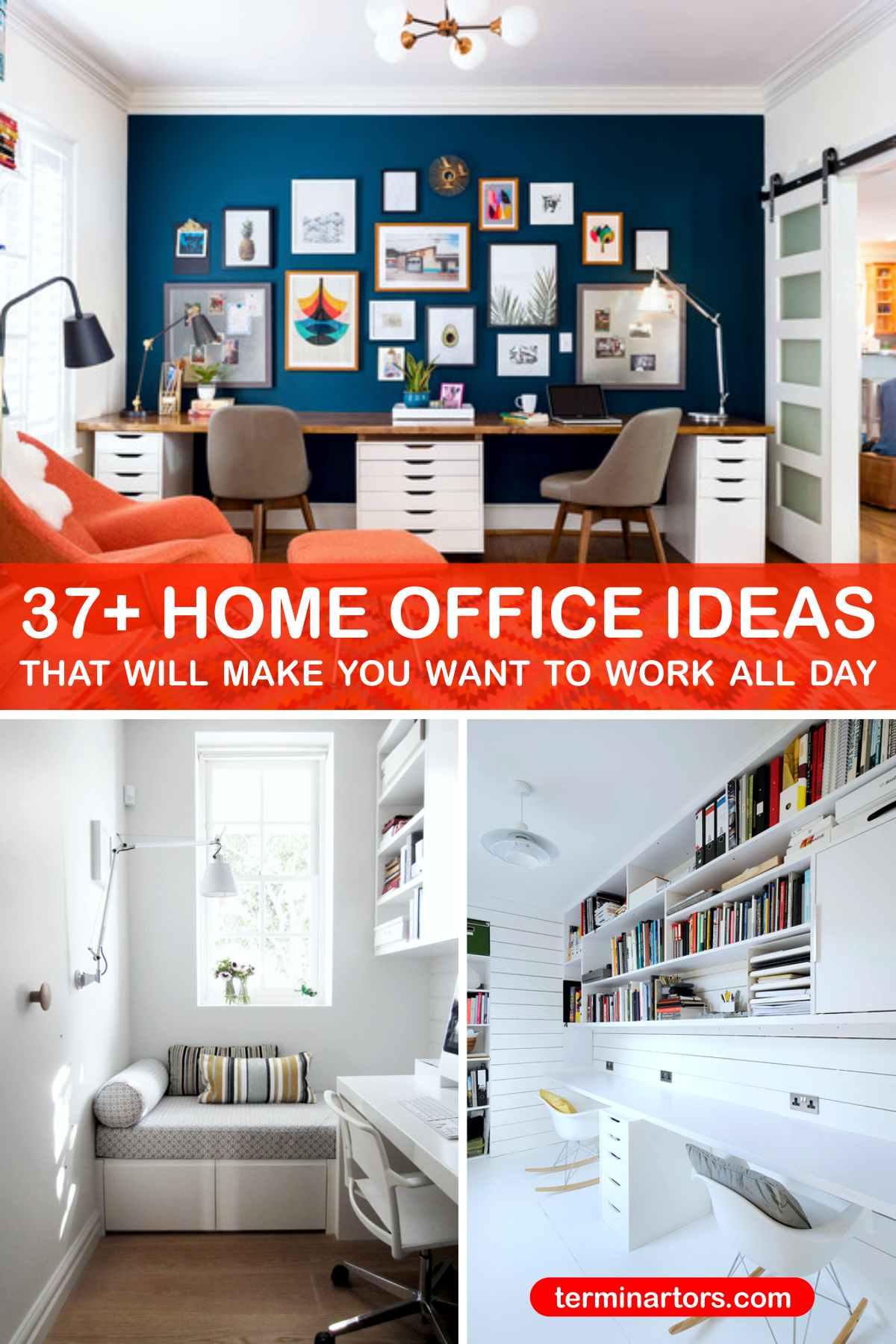 Working from home has become more than a trend here are 37 pretty home