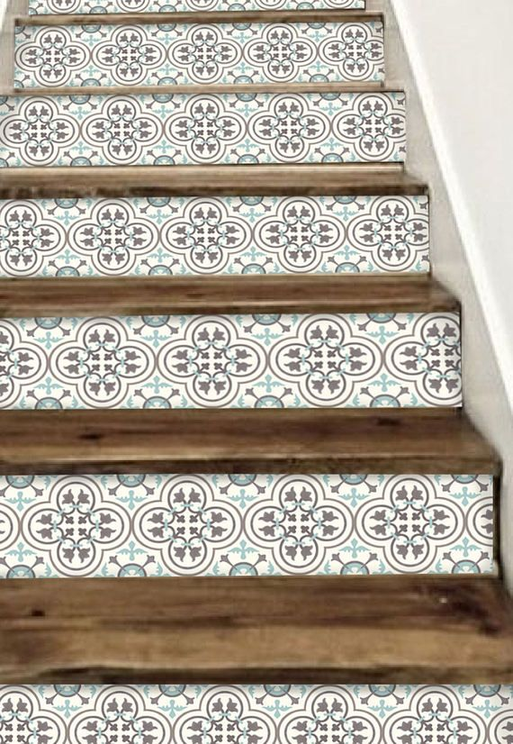 Decorative Stair Riser Is Hot In Latest Home Decorating Scene We