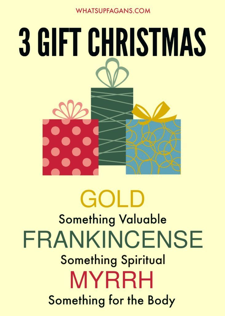 Gold Frankincense And Myrrh Christmas Gifts.How A 3 Gift Christmas Can Help You Focus More On Jesus