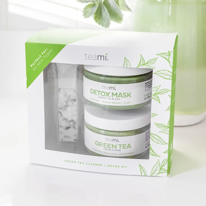 Photo of Green Tea Cleanse & Detox Kit | Teami Blends #GreenTeaMaskDiy