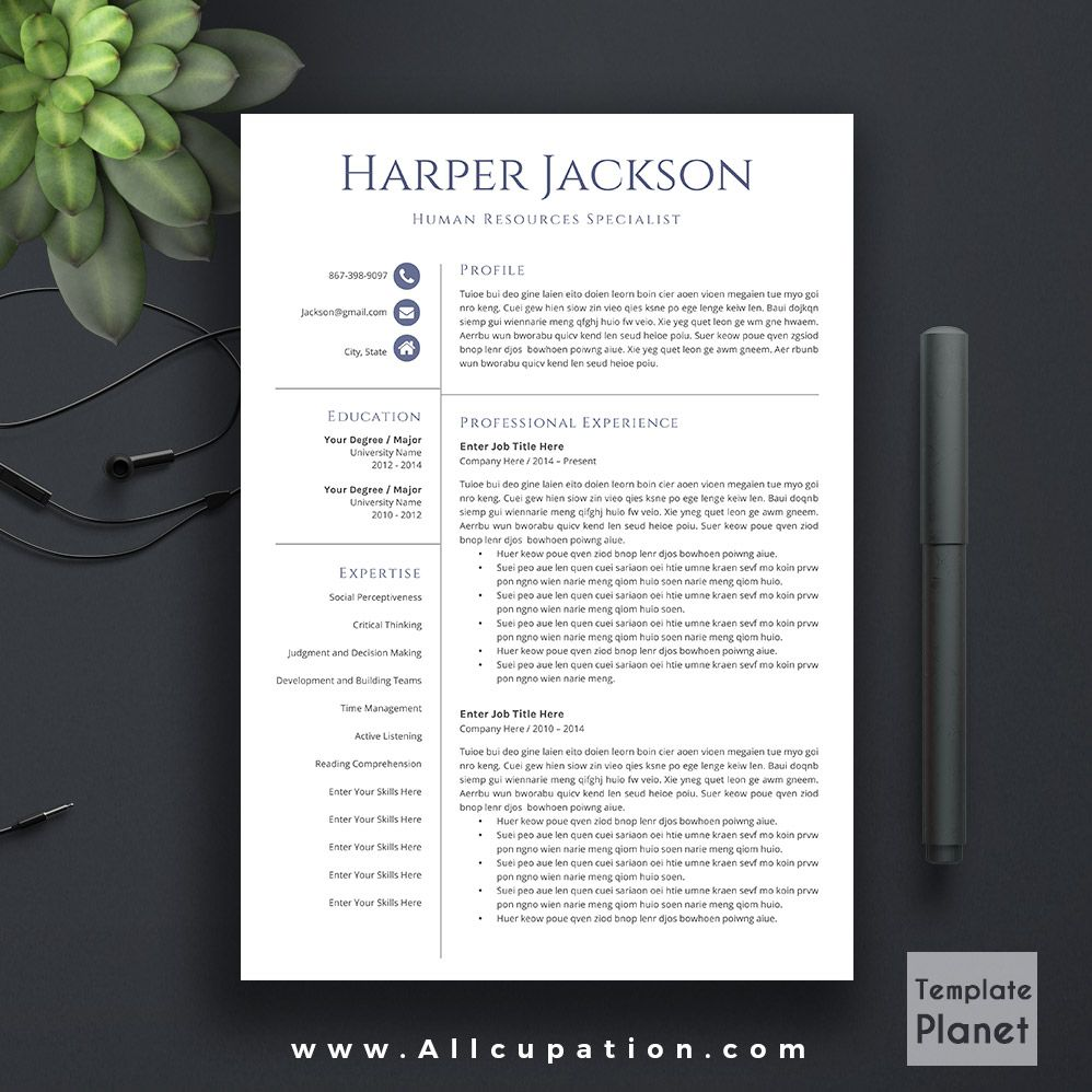 Microsoft Office Resume Templates 2014 Modern Resume Template Cover Letter References Ms Office Word .