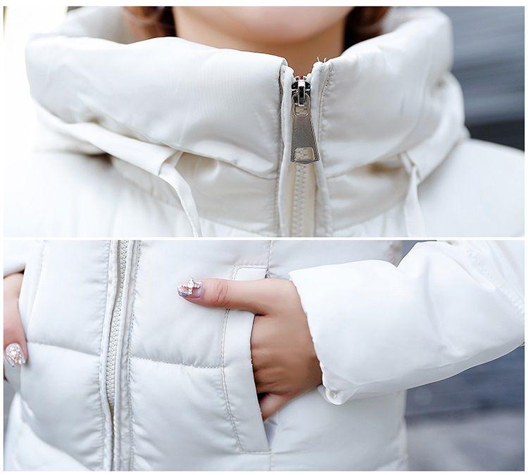 a80bc9d1 Talla grande 6XL plumón chaquetas 2018 moda mujer invierno abrigo largo  Delgado grueso cálido chaqueta abajo algodón acolchado chaqueta Outwear  Parkas