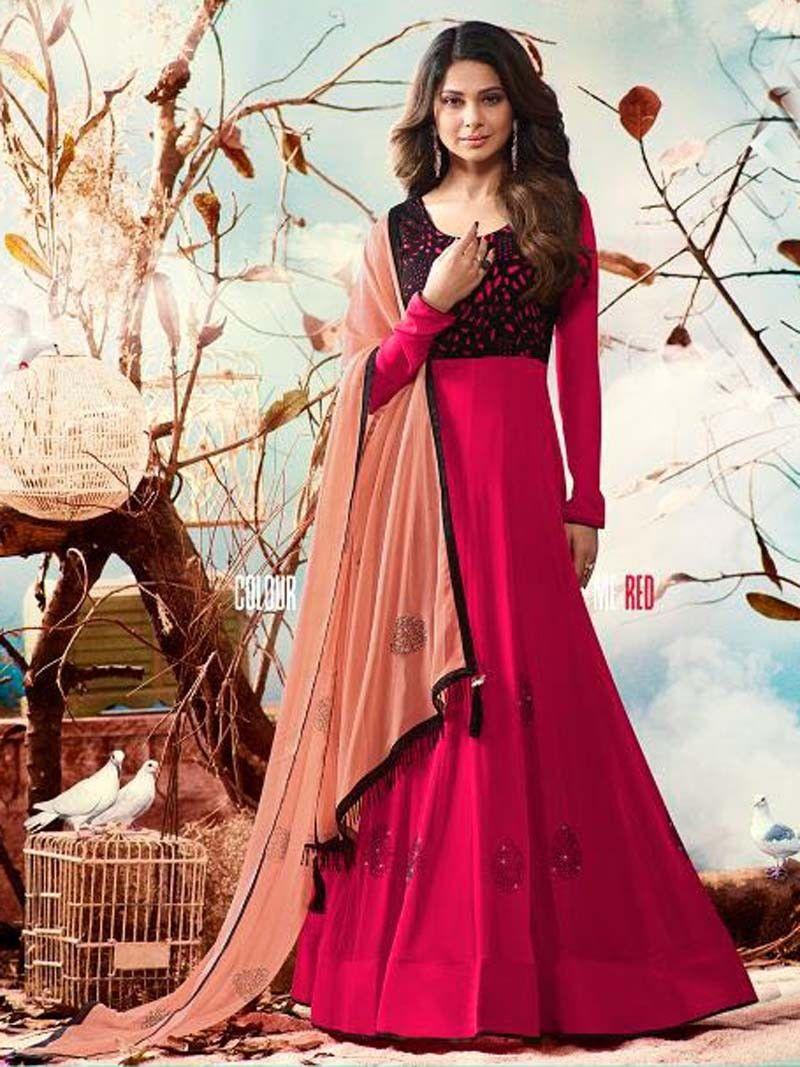 Salwar Kameez Indian Pakistani Suit ethnic Anarkali Dress Designer Party Wear AR
