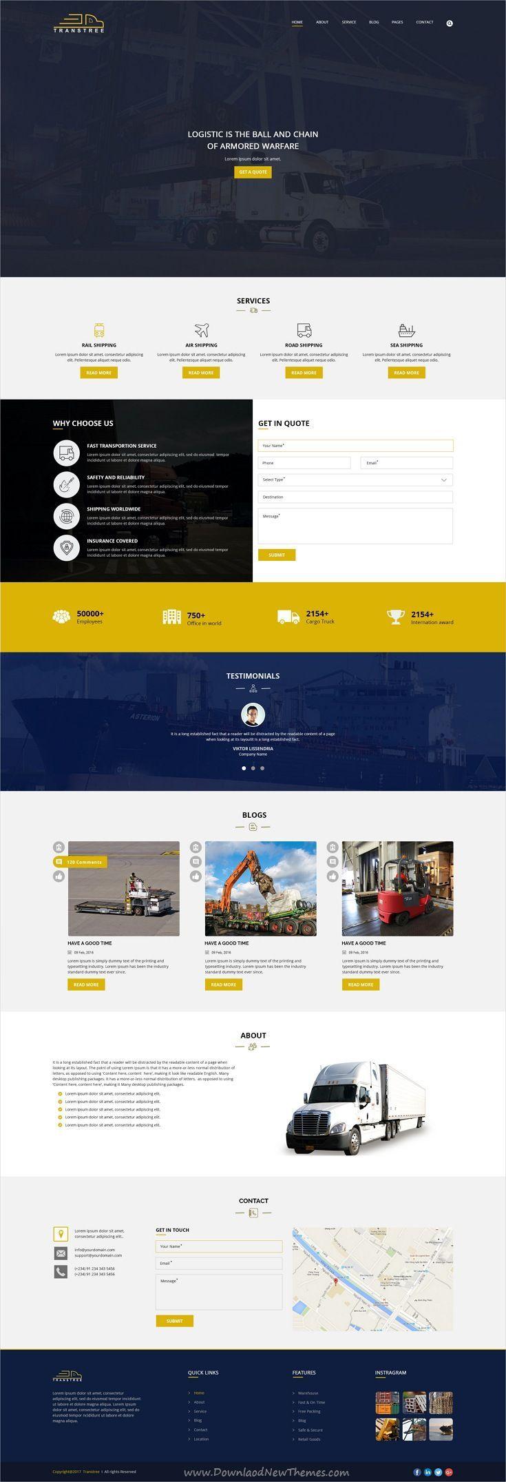 Transtree Psd Template Website Design Web Design Tips Web Design Tools