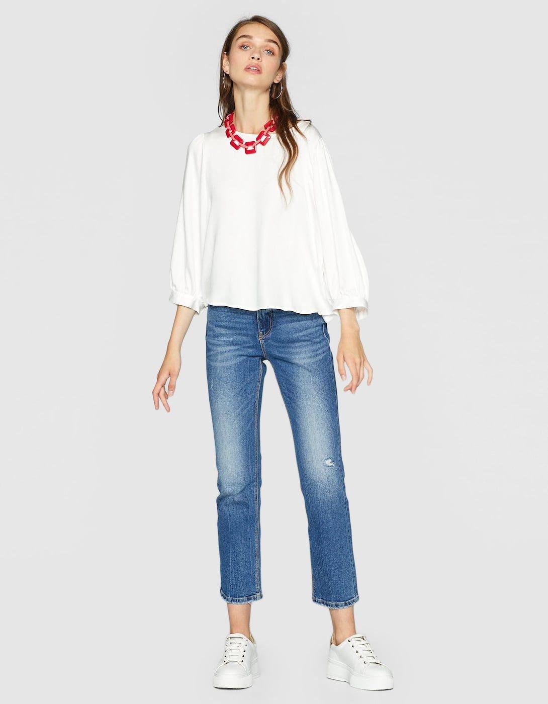 Твоя идеальная модель  как выбрать джинсы по типу фигуры - cosmo.com ... 6717ce0aba1