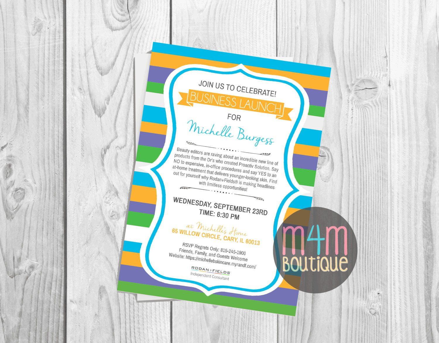 launch invitation templates