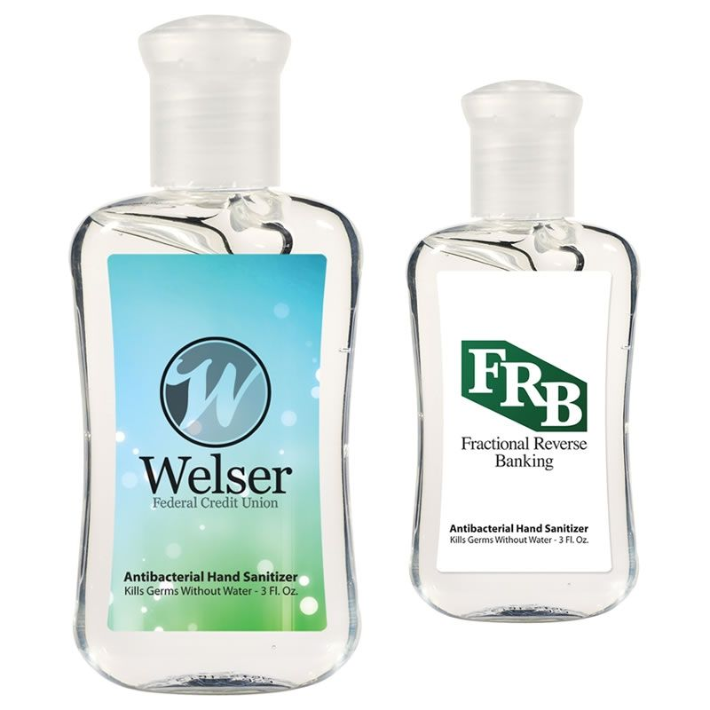 Promotional 16 Oz Antibacterial Hand Sanitizer Item Tek Hs106