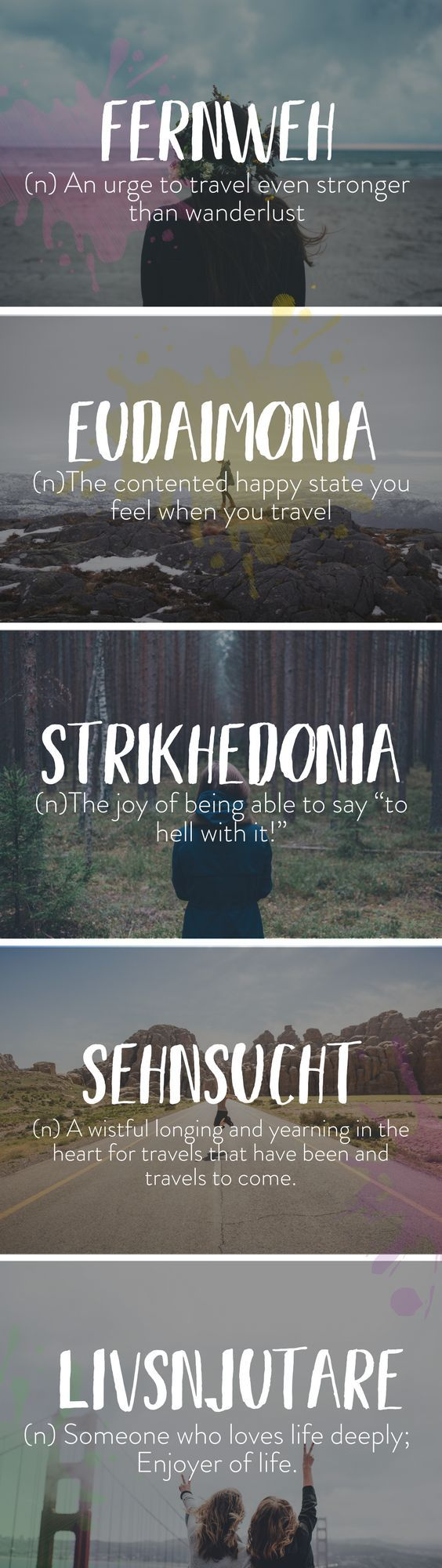 Unusual Travel Words With Beautiful Meanings Inspirational Quotes