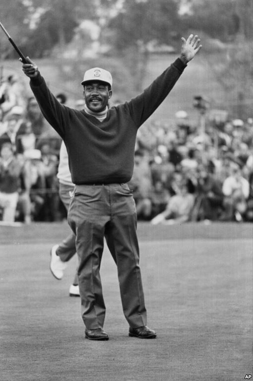 Charlie Sifford First Black Pga Tour Player Dies At 92 Pga Tour Players African American Golf Club Reviews