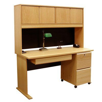 Rush Furniture Carolina Veneers Modulars Desk, 48-Inch home ofis