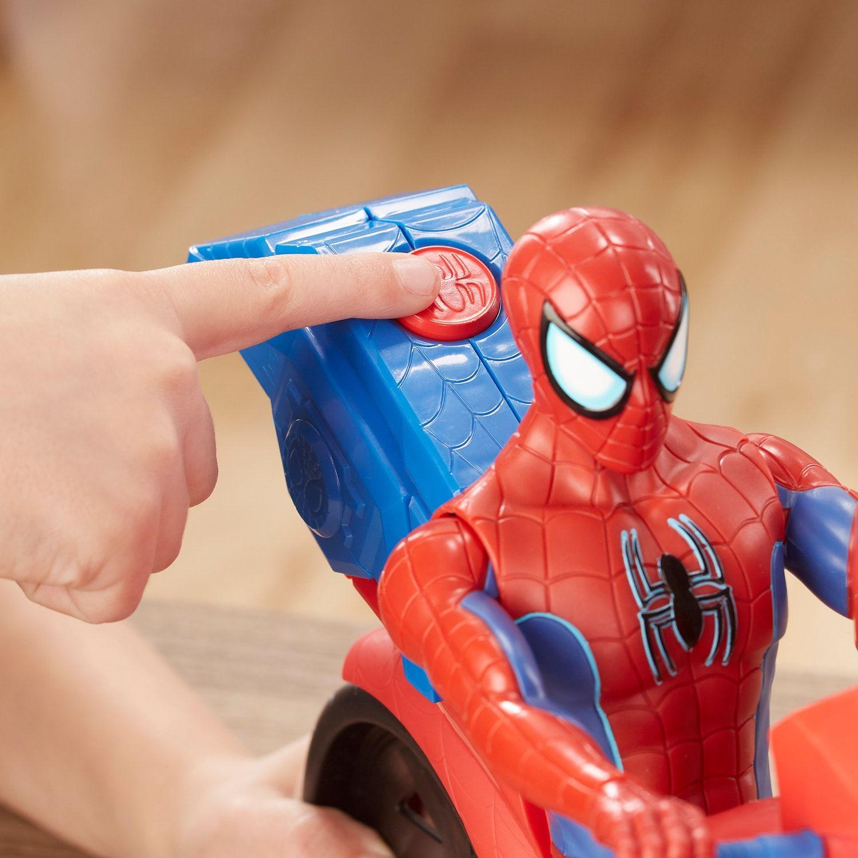 SpiderMan Titan Hero Series SpiderMan Figure with Power