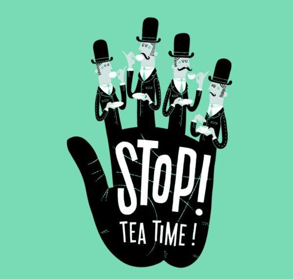 Stop! Tea Time! #tea