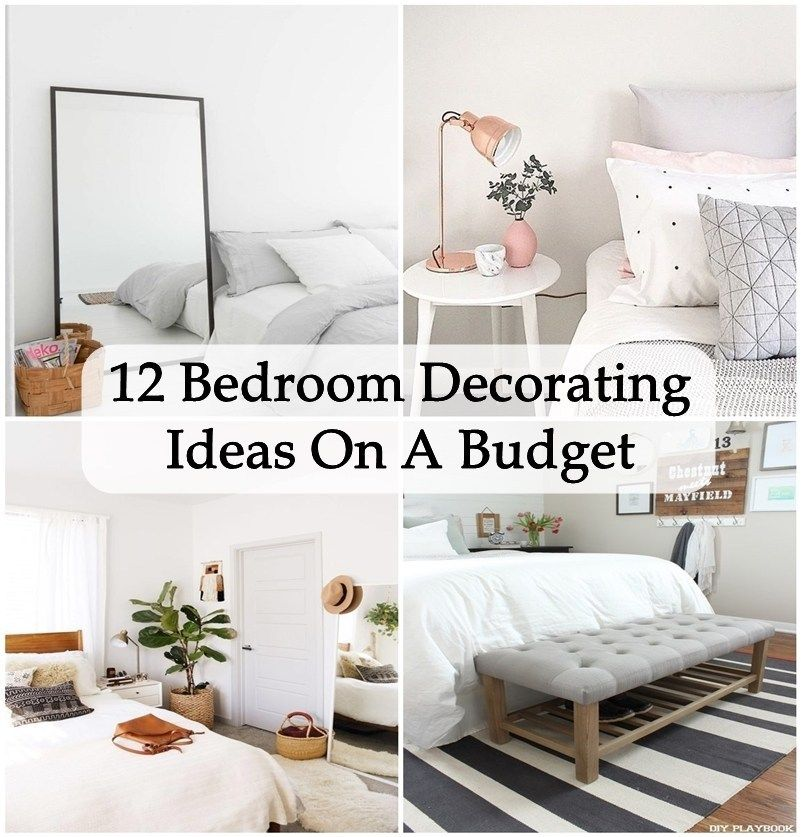 12 Bedroom Decorating Ideas On A Budget Matchness Com Bedroom Decor Redecorate Bedroom Bedroom Makeover Diy