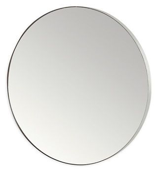 Awesome Infinity Round Mirror In Stainless Steel Good Looking