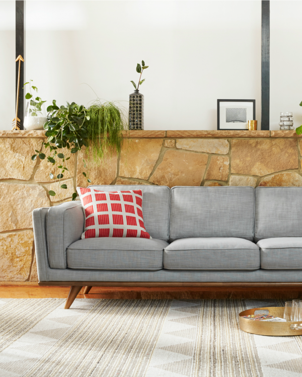 Freedom Dahlia sofa with SS15 homewares.   Loungeroom   Pinterest ...