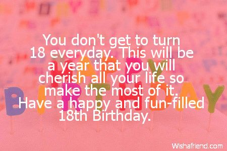 18th birthday wishes birthday pinterest birthdays birthday 18th birthday wishes birthday card messages18th bookmarktalkfo Gallery
