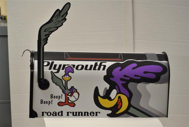 Plymouth Roadrunner Mopar Mailbox Mopar Extras Mopar