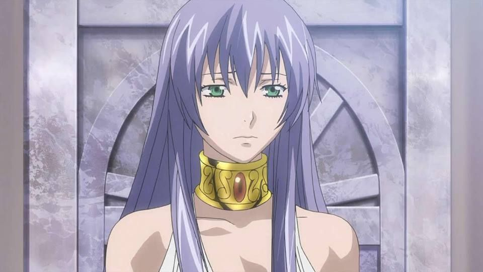 Sasha / Athena - Lost Canvas ( Saint Seiya ) | myth | Saint