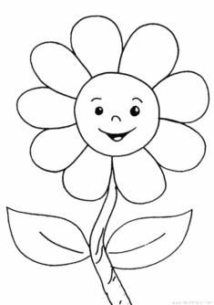 Cicek Boyama Sayfasi Okuloncesitr Preschool 2020 Boyama Sayfalari Cicek Resimler