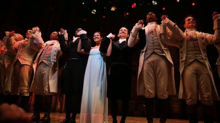 Hamilton Opens In Chicago With Miranda Seller And A Standing Ovation Hamilton Chicago Hamilton Hamilton Musical