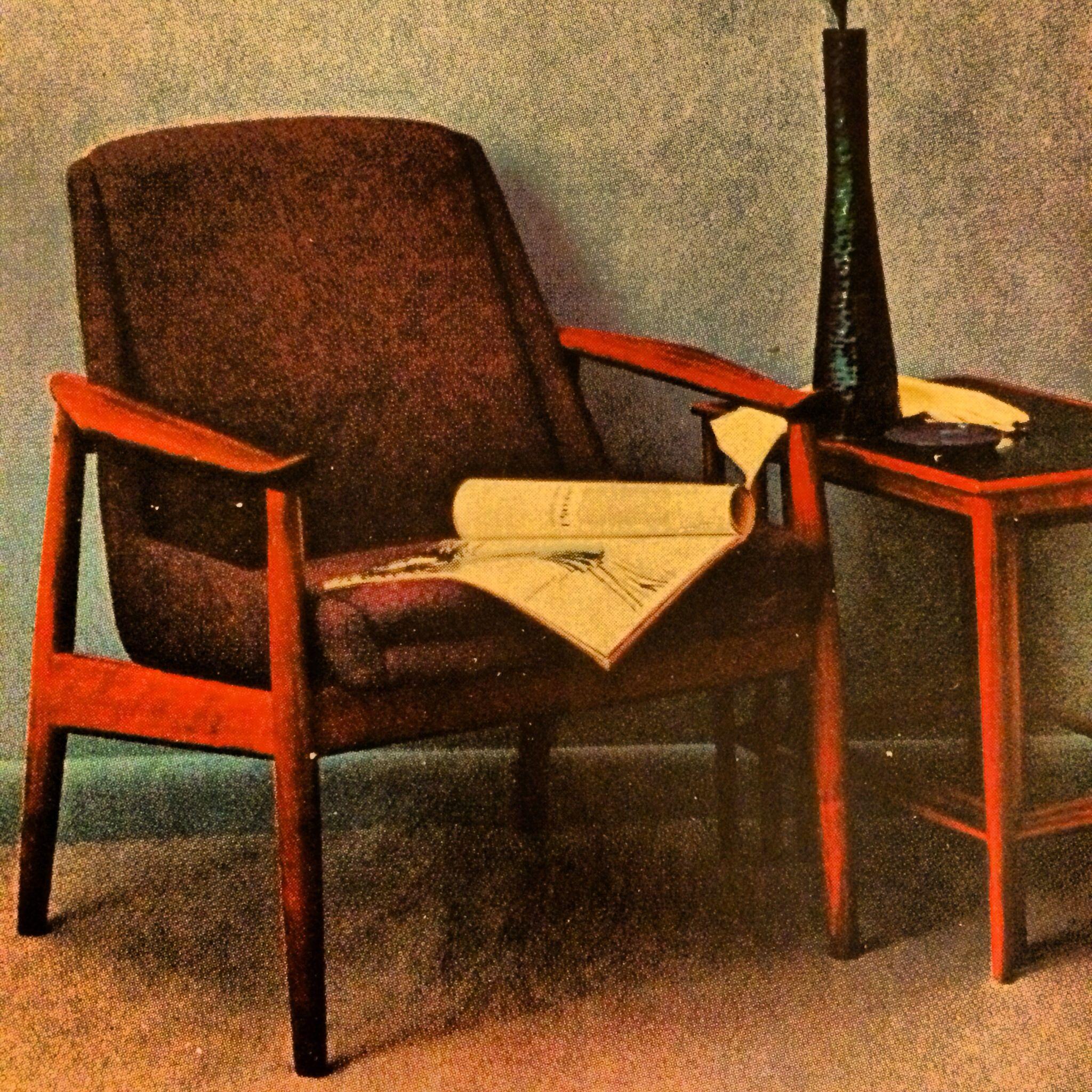 Danish Modern Magazine Ad From 1961.