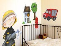 Inspirational Die Wandtattoo Motive werden anhand von original Illustrationen des deutschen Kinderbuchautors Janosch erstellt Die Motive Janosch Tigerente Forsch