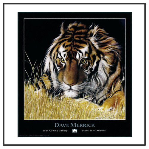 Paper Tiger This painting began on a rainy afternoon on