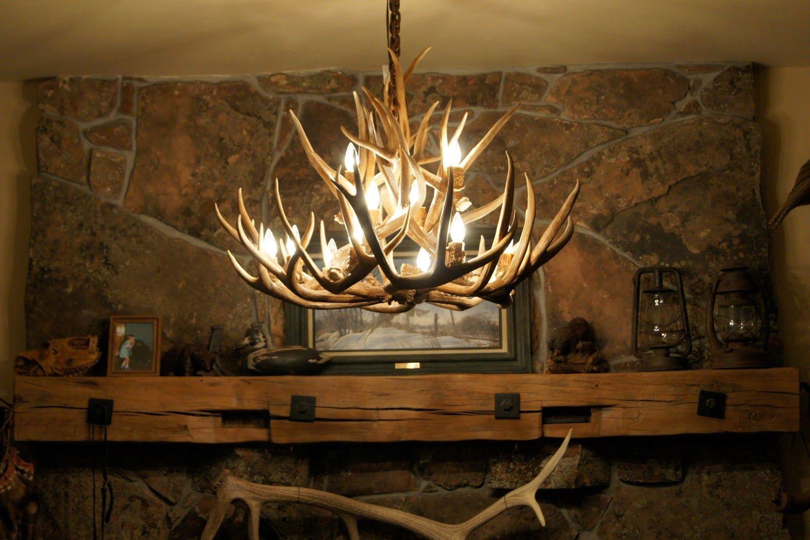 Antler chandeliergot to farmhouse pinterest mule deer antler chandeliergot to mozeypictures Choice Image