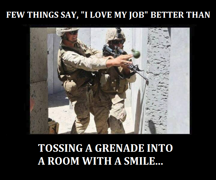 Funny Army Captions For Instagram - cool attitude captions