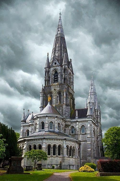 "St. Fin Barre's Cathedral, Cork, Ireland   .............. GlobeTripper®   https://www.globe-tripper.com   ""Home-made Hospitality""   #GlobeTripper"