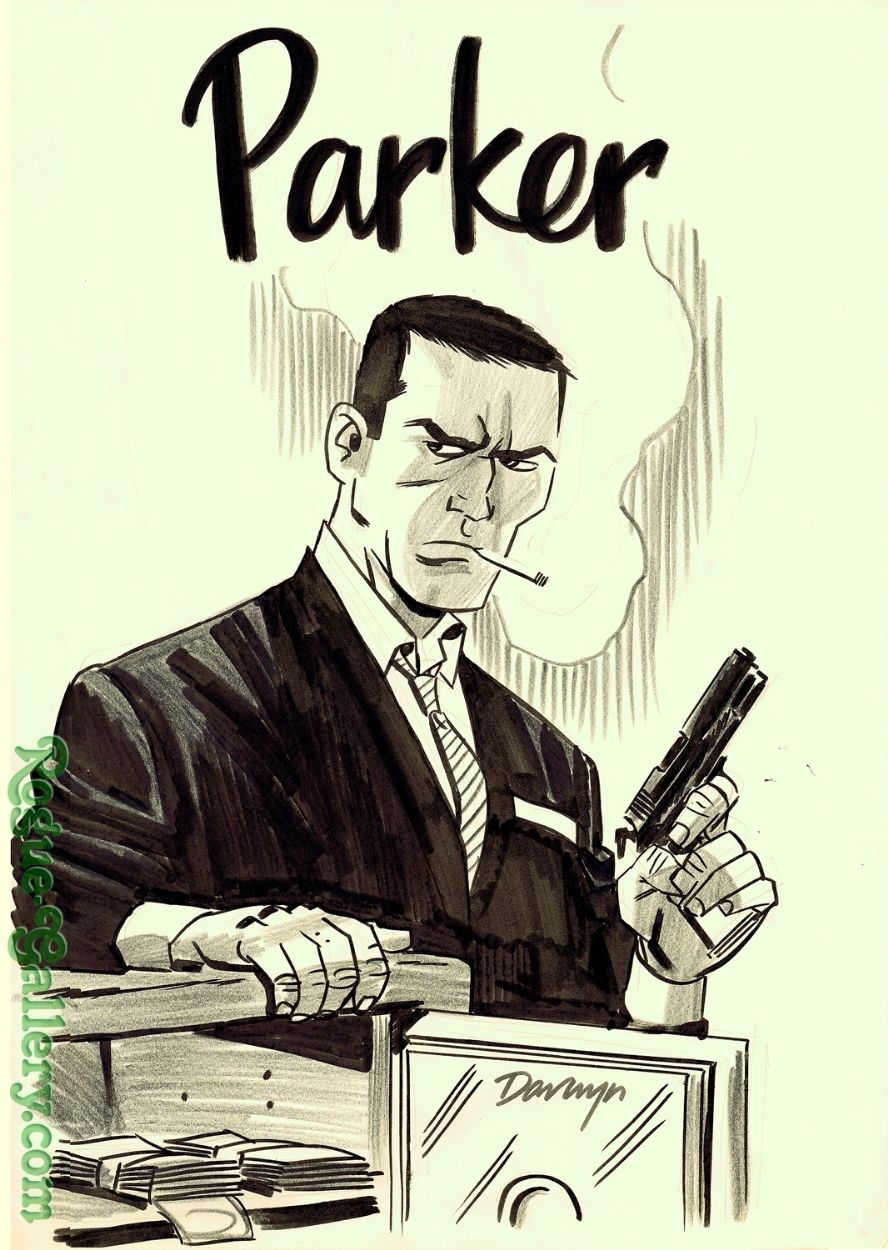 Fatale #15 Ghost Variant Image Comics Darwyn Cooke Cover Art