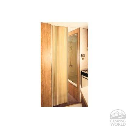 Pleated Bi-Fold Door - Beige | Bi fold doors and Doors