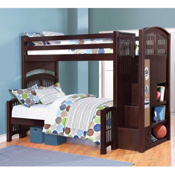 Costco Summit Staircase Twin over Full Bunk Bed costco sargeslist